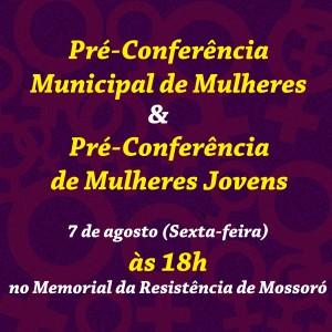 pre conferencia de mulhres