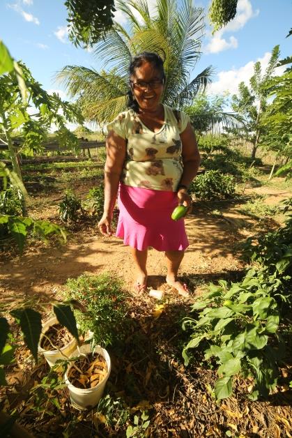 Dona Alvani Pereira, Upanema RN. Foto de Wigna Ribeiro